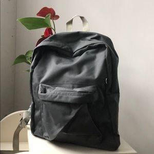 BRAND NEW American Apparel Grey Nylon Backpack
